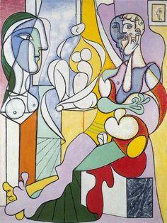 Pablo Picasso Le-sculpteur 1931