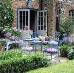 garden shrubs b q Outdoor Areas, Outdoor Rooms, Outdoor Living, Outdoor Decor, Outdoor Seating, Gazebos, Garden Shrubs, Garden Cottage, Garden Spaces