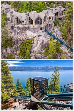 Wow Dream Home Design, House Design, Billionaire Homes, Mansion Plans, Weekend Cottages, Florida Mansion, Swimming Pool House, Dream Mansion, Castle House