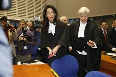 So Amal Clooney is currently representing Armenia in the European Court of Human Rights (ECHR).