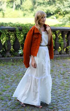 Sommer-Must-Have  weißes Maxikleid. Jacken SommerKleiderBonnSommertrendsSommer-outfits a194849957