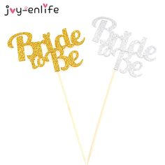 >> Click to Buy << JOY-ENLIFE 1pcs Glitter Bride To Be Cake Cupcake Topper Wedding Decor Hen Night Party Bachelorette Party Bridal Shower Supplies #Affiliate