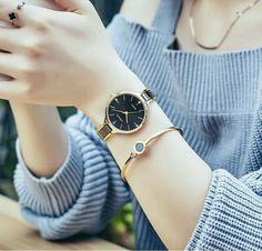 Women's Luxury Watches For Travel And Fashion – Voyage Afield Stylish Watches For Girls, Trendy Watches, Girls Dp Stylish, Stylish Girl Images, Cool Watches, Watches For Men, Cheap Watches, Women's Watches, Datejust Rolex