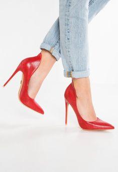 Paige Court Shoe Court Shoes, Stiletto Heels, Pumps, Boutique, Counter, Red, Spring Summer, Lost, Fashion