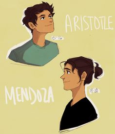 """Aristotle Mendoza from """"Aristotle and Dante Discover the Secrets of the Universe"""", by Benjamin Alire Sáenz - art by junknight on Tumblr."""
