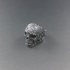 Love this little Skull Ring by dacrownjewelz on Etsy for under 25.00