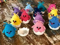 Baby chicks crochet