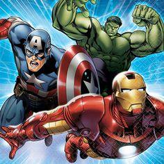 Avengers Assemble Beverage Napkins (16ct)