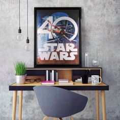 Commemorative Star Wars 40th Anniversary Art