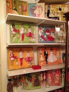 reminds me of Town Fair where ALL my Barbie treasures were bought. Barbie Room, Play Barbie, Barbie I, Barbie House, Barbie World, Barbie And Ken, Barbie Stuff, Barbie Vintage, Vintage Dolls