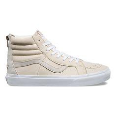 0894115d2a754f Premium Leather SK8-Hi Reissue Zip Vans Shoes