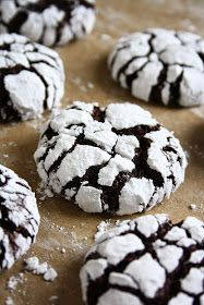 These chocolate crinkle cookies are one of my favorite holiday cookies. Their texture is very similar to brownies. They're ch...