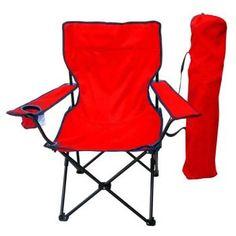 Quad chair red w/bag