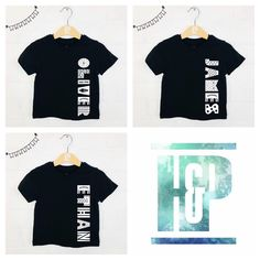Personalised Sweets Name Brushed Top Kids T-shirt Custom Boys Girls Tee