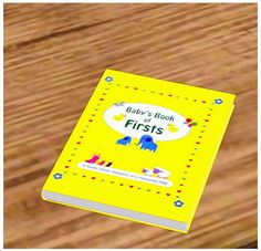 【Objects】 Baby book for new mommy [Find>Kids>Kids decor or Plants]