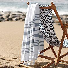 deckchair on the sand