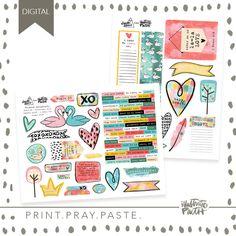 February Artist Mood Board & New Releases: Work of Heart - Illustrated Faith - Illustrated Faith