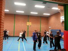 Wing chun training 2015 in Lelystad!
