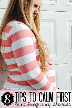 8 Tips to Calm First Time Pregnancy Worries at thebensonstreet.com #pregnancy #ftm