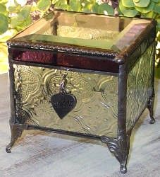 Vintage stained box