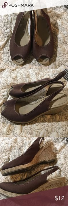 Brown wedge shoes Montego Bay Club wedge shoes Montego Bay Club Shoes Wedges
