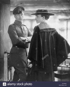 Prince Adalbert and Princess Adelheid, 1916 Stock Photo