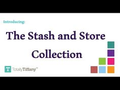 Stash and Store boxes by Totally-Tiffany - YouTube