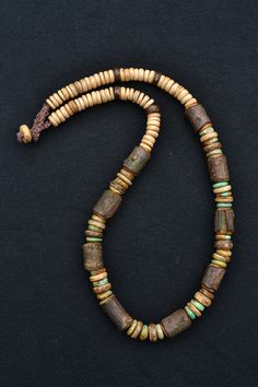 NATURAL  Wooden necklace  Coconut Shell  Real by TaikaEarth, £33.00