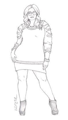 fashion illustration | Curvy Sketches | Page 2
