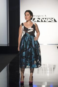 Designer Roberi's design created for his friend on Project Runway.