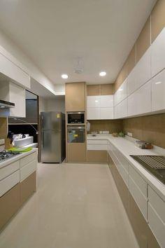 Modern Kitchen Interior Heera High Life: modern Kitchen by SM Studio - Find the best interior design ideas Kitchen Room Design, Kitchen Cabinet Design, Home Decor Kitchen, Interior Design Kitchen, Interior Ideas, Kitchen Ideas, Diy Kitchen, Awesome Kitchen, Kitchen Layout