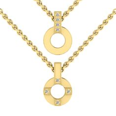 Silver Diamond Pendant And Chain. R2000 Product Code- WN00017