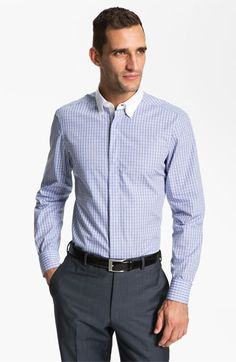 Z Zegna Trim Fit Dress Shirt available at Nordstrom