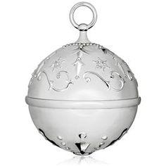 Ring In the Season Santa's Sleigh Jingle Bell Premium Ornament,