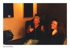 This is 1995... recording my album FEEL