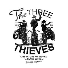 three-thieves-illustration-ARM http://www.alexramonmas.com
