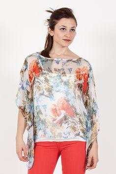 Poncho Kaos. Collezione Kaos Donna. Abbigliamento donna. www.vitalina.it