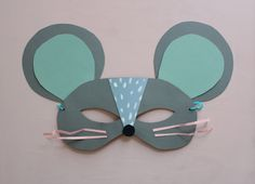 Mer Mag: DIY Paper Mouse Mask