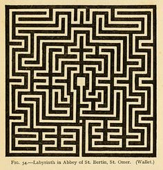 Mazes and Labyrinths: A General Account of their History and Developments (1922) by William Henry Matthews