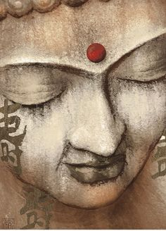 buddha artwork   Serene Buddha Art Print
