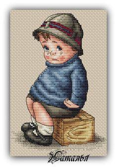 Cross Stitch Designs, Cross Stitch Patterns, Cross Stitching, Cross Stitch Embroidery, 3d Cards, Christmas Cross, Cartoon Kids, Hobbies And Crafts, Pansies