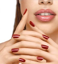 Simple and Effective Manicure Tricks to Try  #naildesigns #rednail