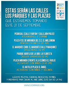 Cresta Metálica Producciones » Sal a jugar este 21 de septiembre Dia Mundial de La Paz!!