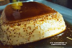 Flan De Café Y Leche Condensada