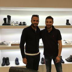 Giampaolo Pazzini e Fabio SFienti #Stokton  …