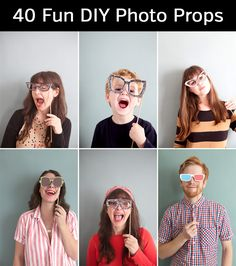 This page is a collection of awesome DIY prop ideas and tutorials that you can use to create fun and inexpensive props for your own photo sessions.