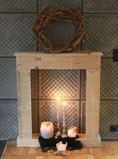 MiaVILLA Kaminumrandung Victoria Shabby Chic Landhausstil Antik Weiss