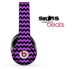 I found 'purple-and-black-chevron-pattern-skin-for-the-beats-by-dre-solo-studio-wireless-pro-or-mixr' on Wish, check it out!