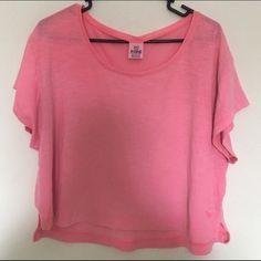 Pink VS top XS. Has a loose fit. Can fit up to a large! PINK Victoria's Secret Tops Tank Tops