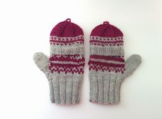 Lately, I've been really into making gloves and I've shared some pictures of them on my Instagram. They've all been for family and because I wanted to work on them quite quickly, …
